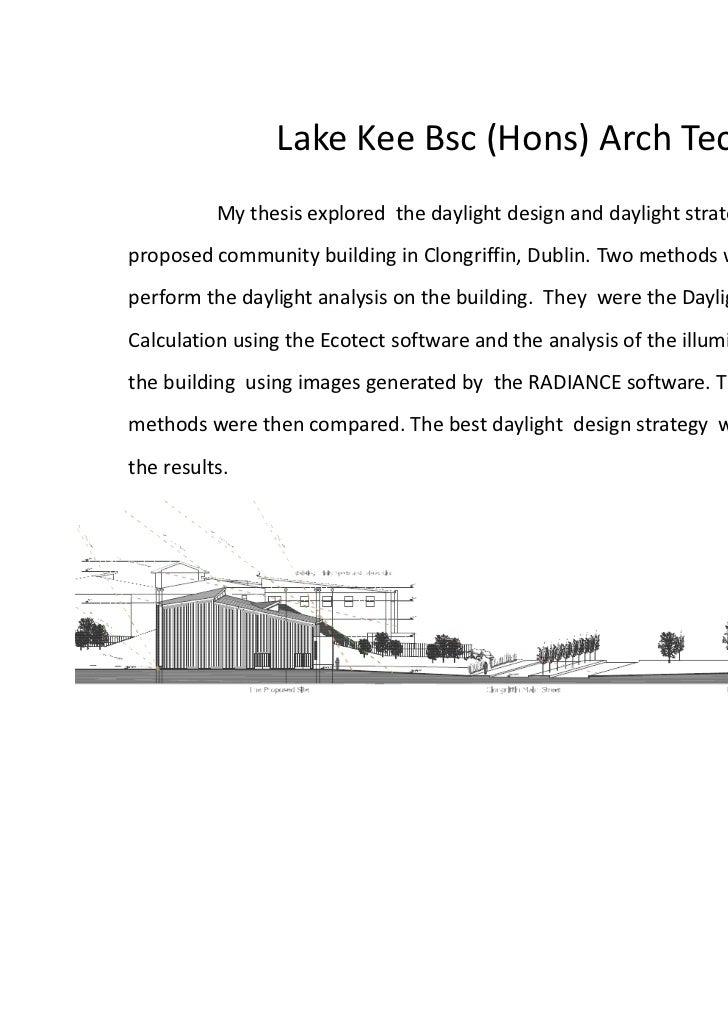 DIT Arch Tech Thesis 2010