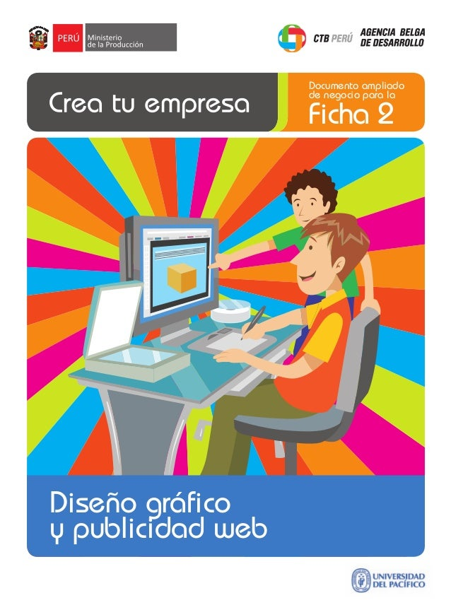 Documento ampliado de negocio para la  Ficha 2  Diseño gráfico y publicidad web