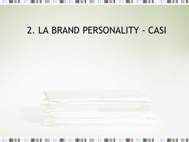 La Brand Personality - 2