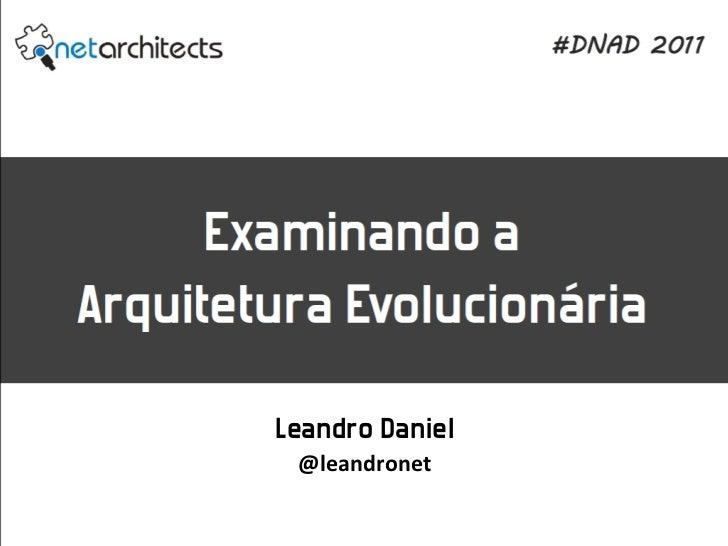 Leandro Daniel @leandronet