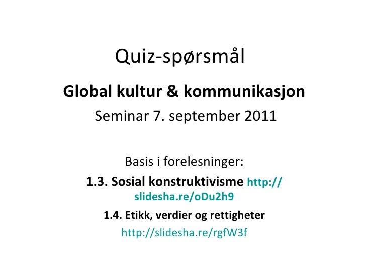 02. Quiz Globalkultur