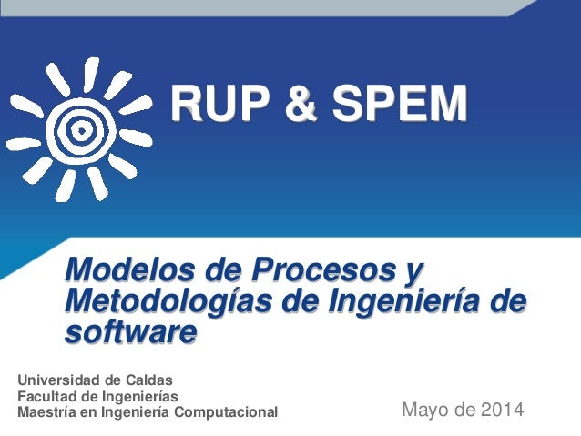 Introduction to RUP & SPEM