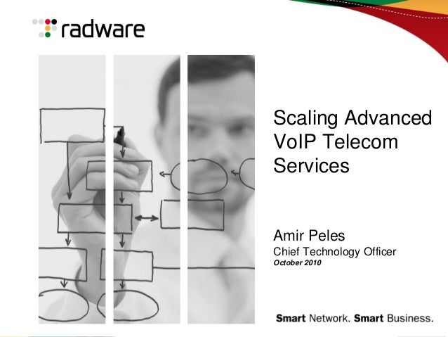 Scaling Advanced VoIP Telecom Services Amir Peles Chief Technology Officer October 2010