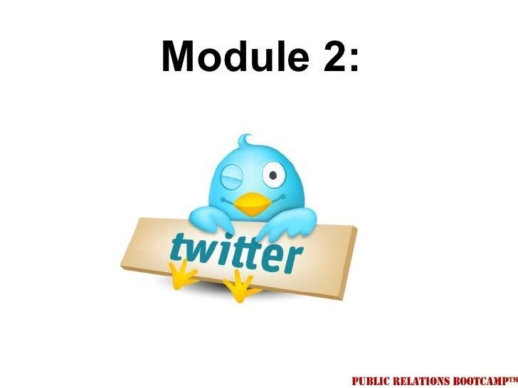 Module 2: