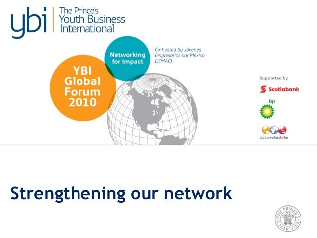 Strengthening our network