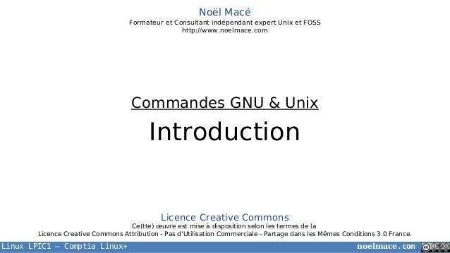 LPIC1 02 01 introduction au shell unix