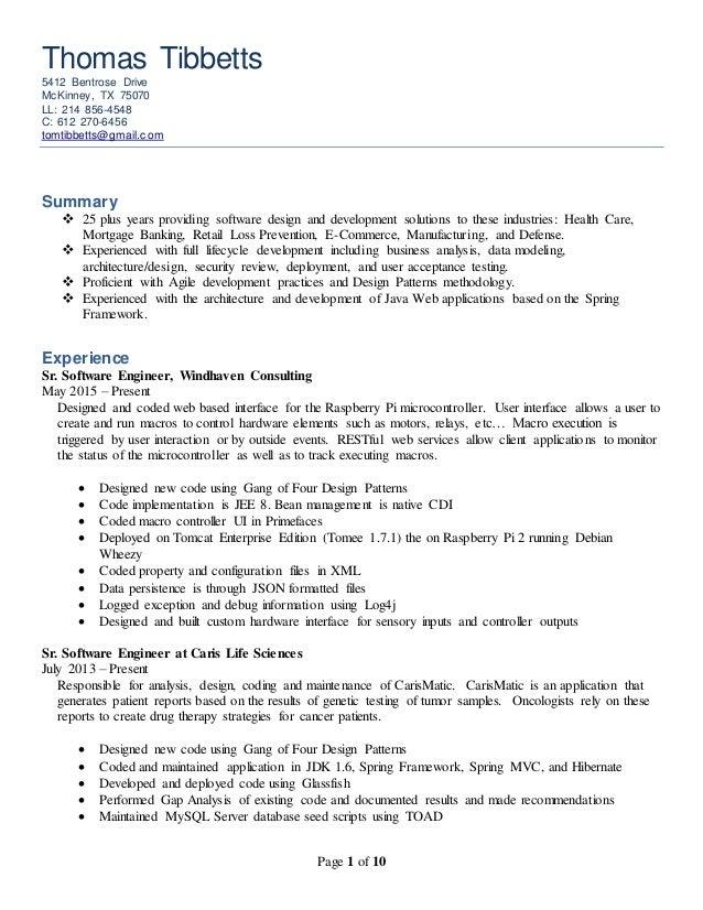 developer resume 3 4 20150713