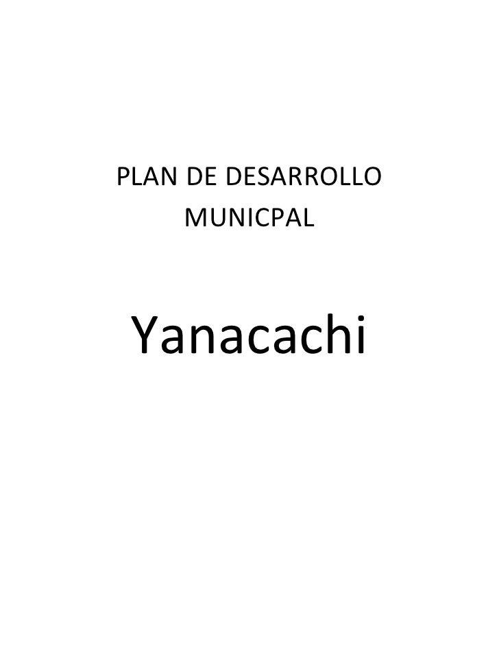 PDM   Yanacachi