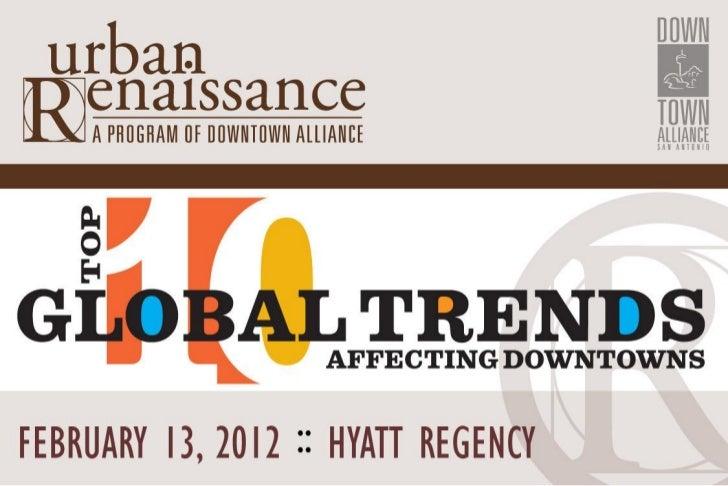 Urban Renaissance Luncheon - February 2012