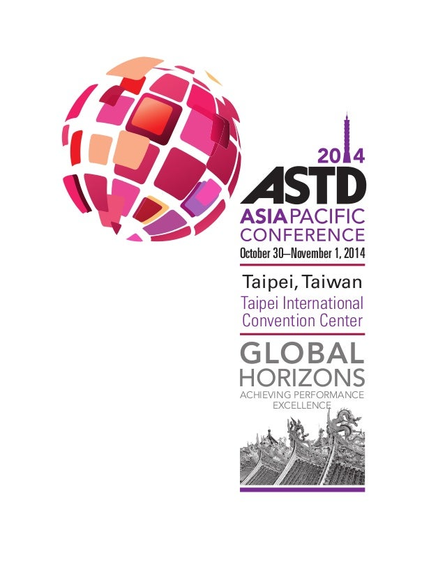 ASTD 2014 Asia Pacific Conference Flyer