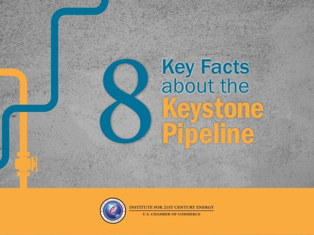 The Keystone pipeline could create 42,100 direct, indirect, and induced jobs FACT #1 8 Key Facts about the Keystone Pipeli...