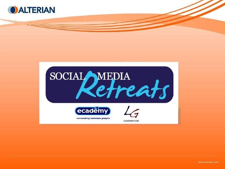 Social Media Retreat: The Decade of Connectedness