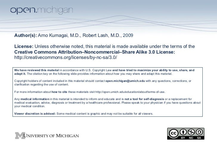 Author(s): Arno Kumagai, M.D., Robert Lash, M.D., 2009License: Unless otherwise noted, this material is made available und...