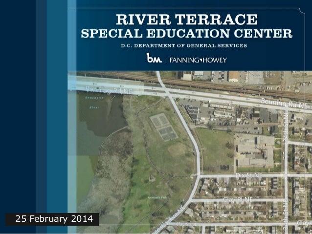 River Terrace Elementary School SIT Presentation (Feb. 25, 2014)
