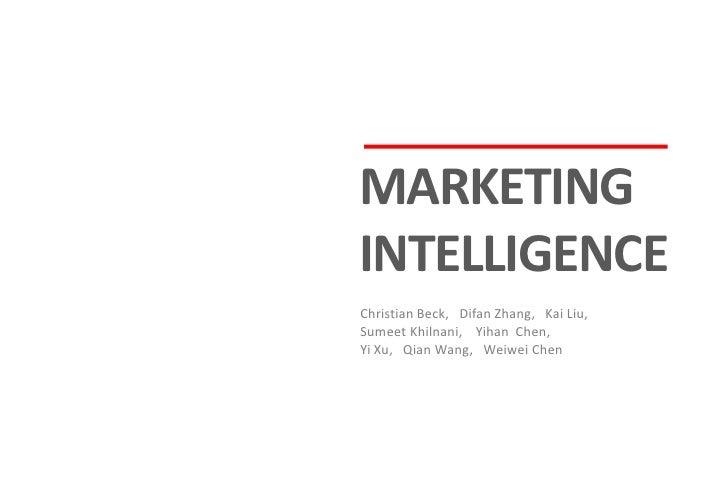 Marketing Intelligence for Touareg Hybrid in the UK