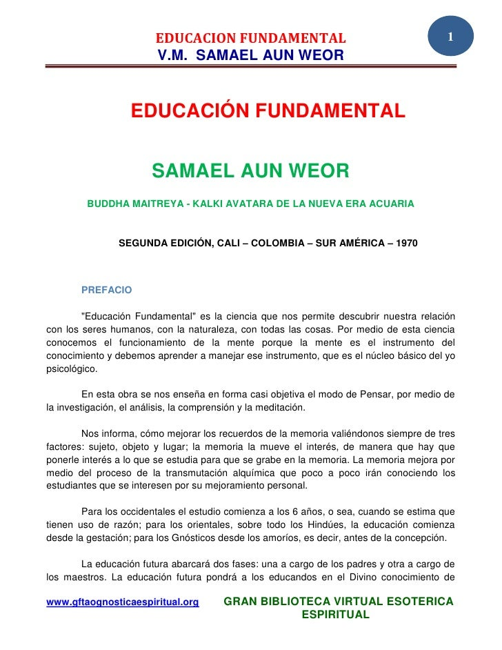 02 37 original educacion fundamental www.gftaognosticaespiritual.org