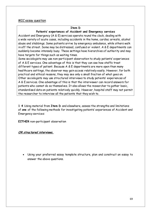 Short ONE paragraph essay best answer?