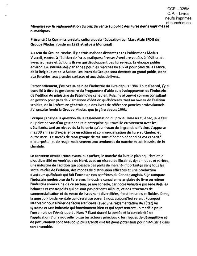 CCE – 025M C.P. – Livres neufs imprimés et numériques