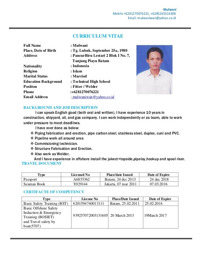 cv mulwani new 1