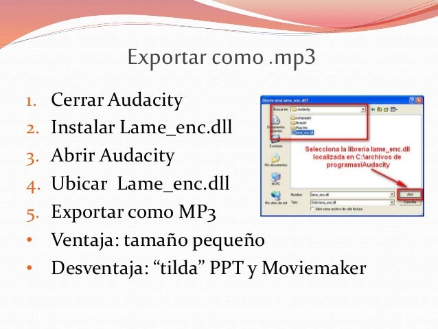 Download Lame For Audacity Mac