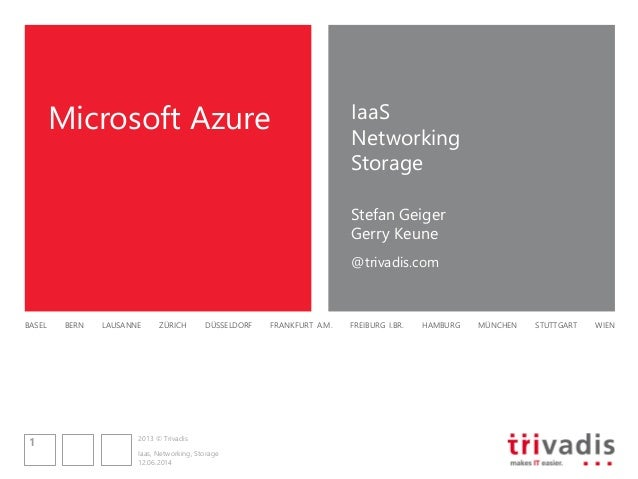 Session 2: Windows Azure Infrastructure as a Service (IaaS)