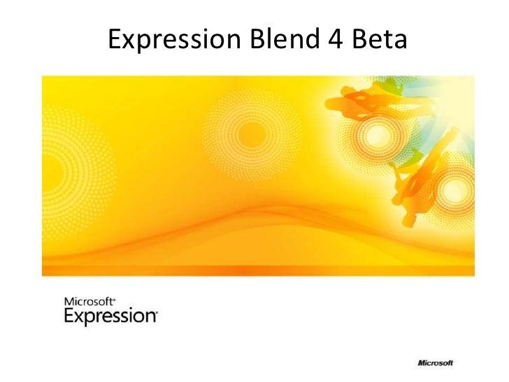 MIX10 Roundup: Expression Blend 4