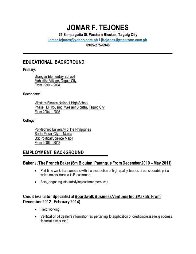 updated resume new