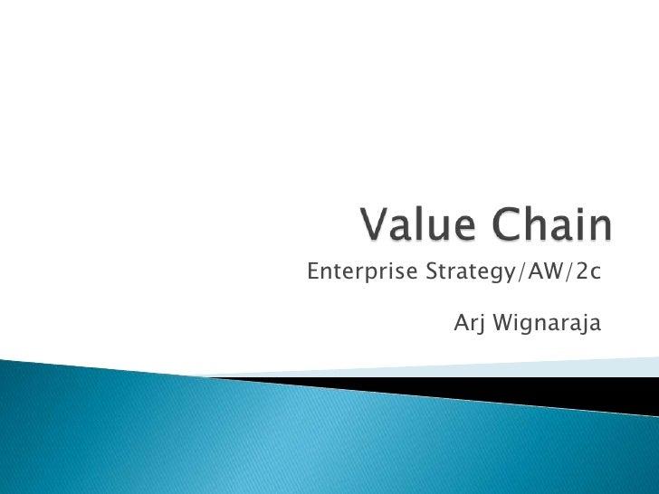 02c e3 value chain lecture notes