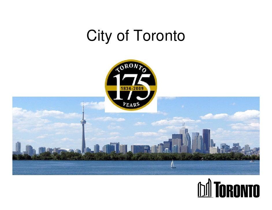 City of Toronto, Mayor David Miller - City of Toronto and C40