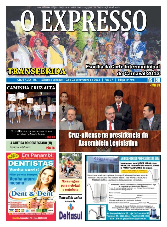o expresso                        www.slideshare.net/jornaloexpresso - E-mails: oexpresso@gmail.com / expresso@comnet.com....