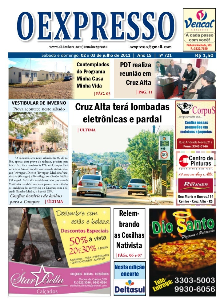 OEXPRESSO                    www.slideshare.net/jornaloexpresso            oexpresso@gmail.com                           S...