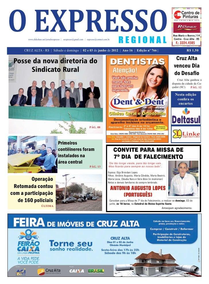 o expresso        www.slideshare.net/jornaloexpresso | oexpresso@gmail.com | expresso@comnet.com.br                       ...