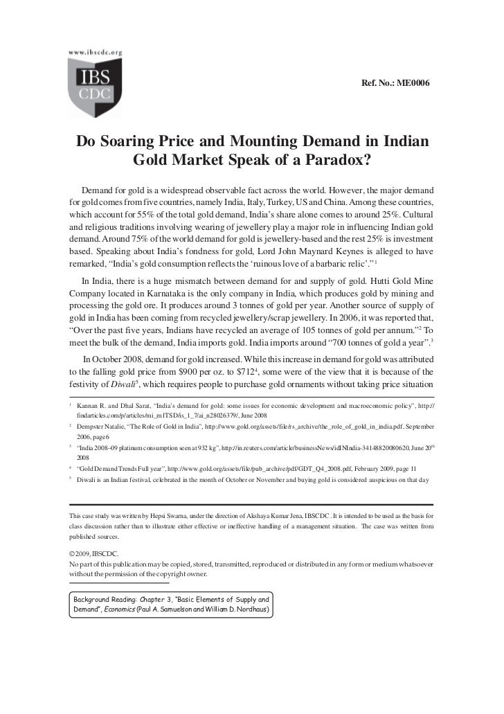 Do Soaring Price and Mounting Demand in Indian ...                                                                        ...