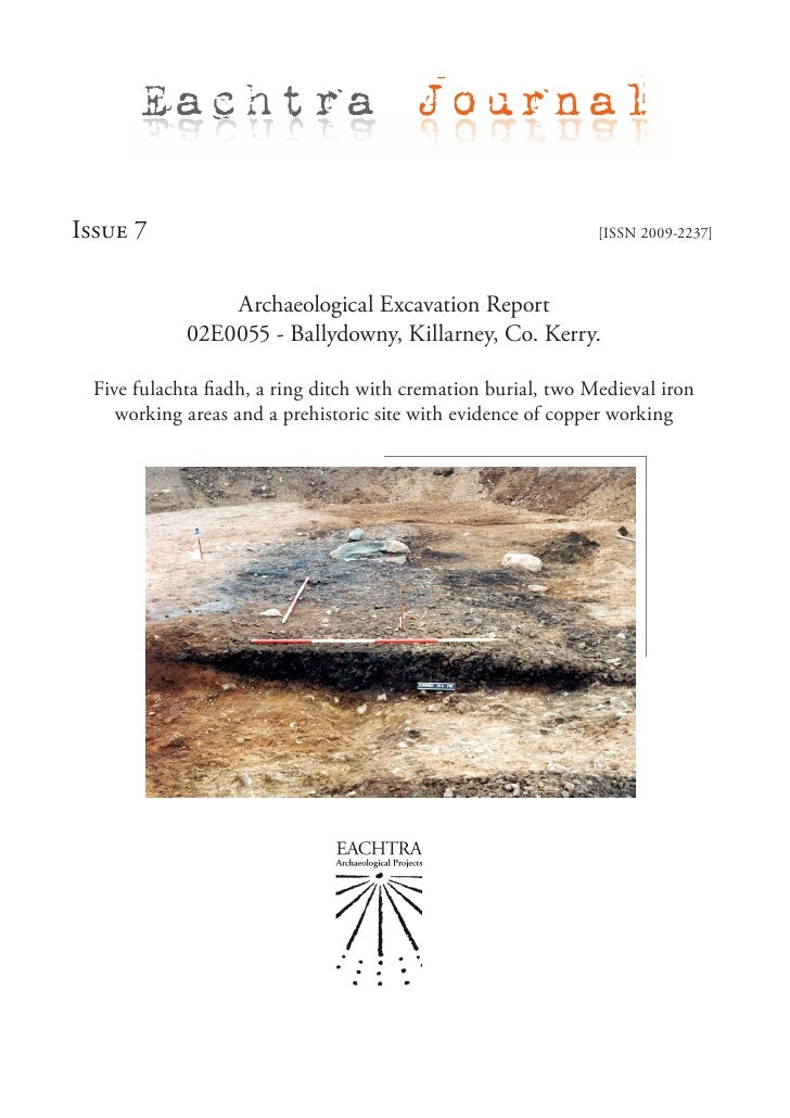 Archaeological Report - 02E0055 Ballydowny, Killarney, Co.Kerry (Ireland)