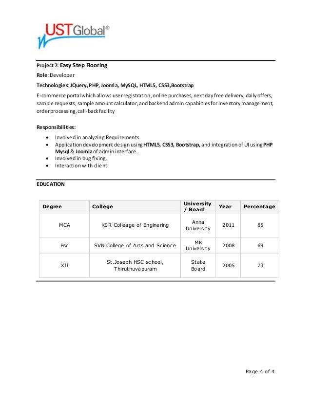 prabin resume web and ui developer