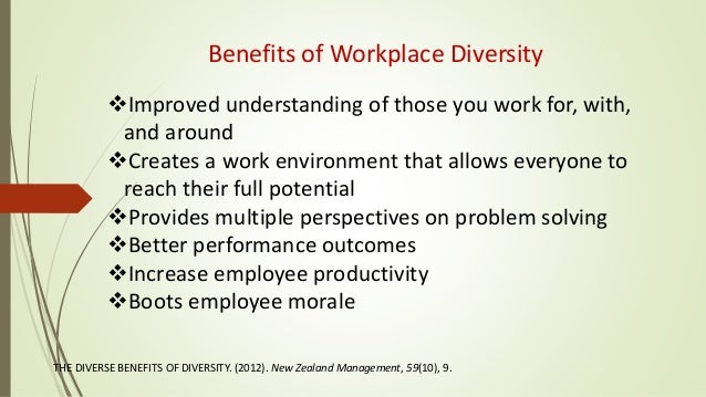diversity in the workplace essay example A diversity statement example is a written personal statement about who you are, what you do and what you have become a diversity statement sample is a useful piece of document that is used to apply for a position, mostly for schools and universities below is an example of diversity essay.