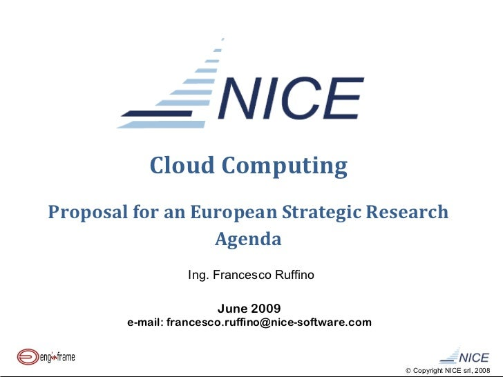 Phd research proposal on cloud computing