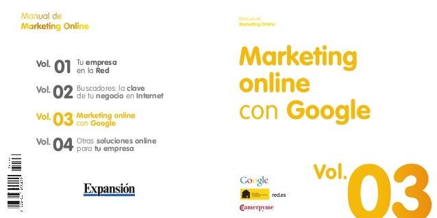 Manual de                              Manual deMarketing Online                       Marketing Online   Vol.        01  ...