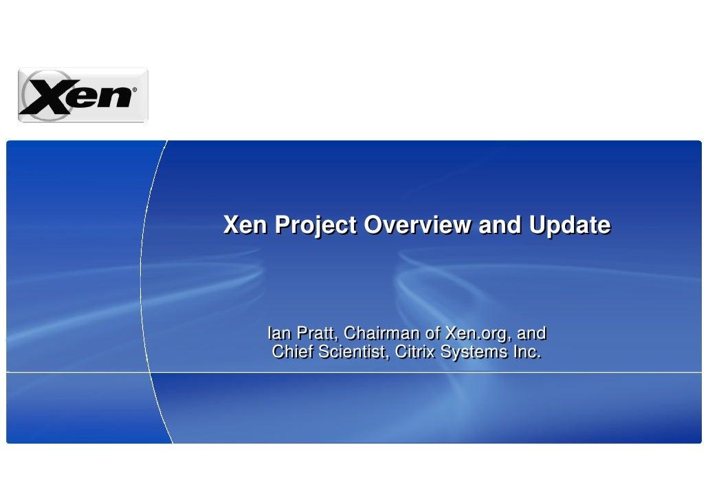 XS Japan 2008 Project Status English