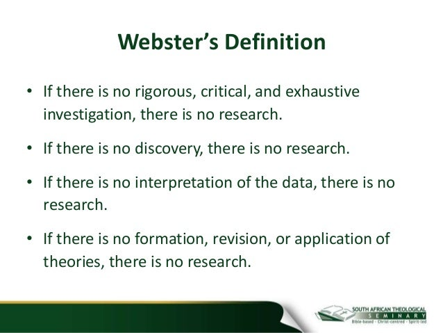 Websters definition of critical thinking