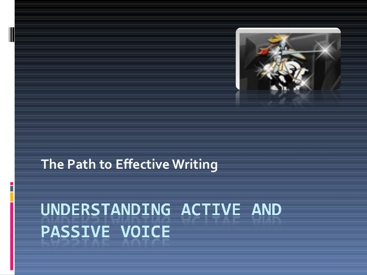 02k activeand passivevoiceoffice2003