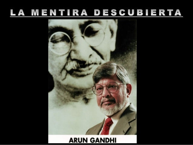 """El Dr. Arun Gandhi, nieto de Mahatma Gandhi y fundador del Instituto M. K. Gandhi para la """"Vida Sin Violencia"""", en una con..."""