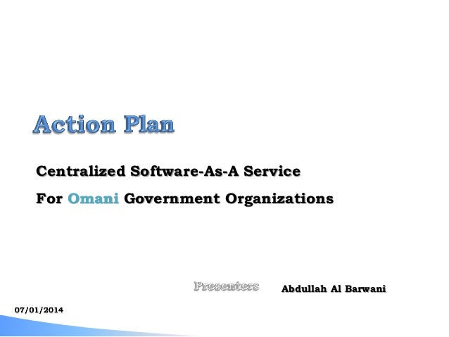 [e-Government Program Action Plan : Muscat, Oman]