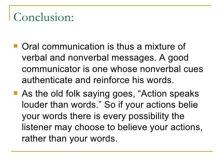 conclusion for effective communication essay