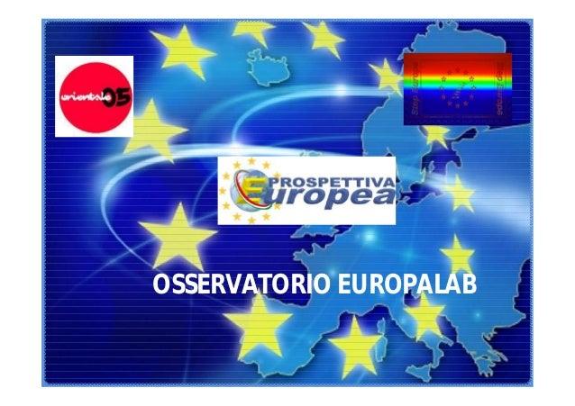 OSSERVATORIO EUROPALAB