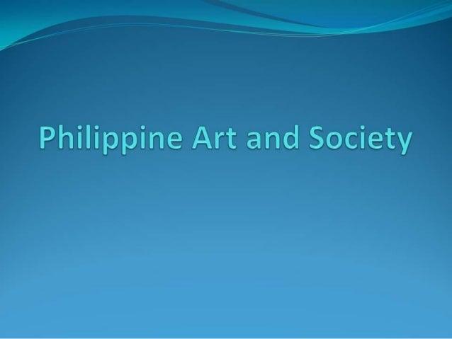 02 philippine art and society
