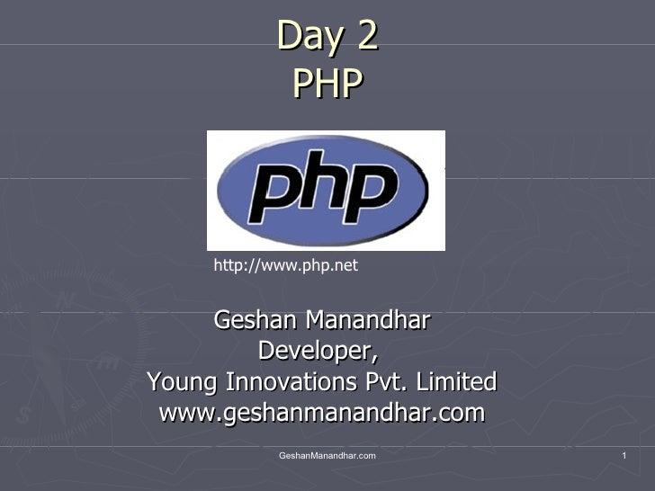 02 Php Vars Op Control Etc