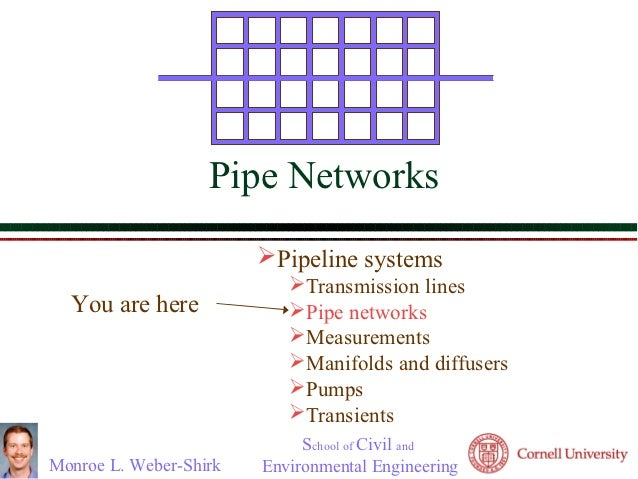                          Pipe Networks                              Pipeline systems                                 ...