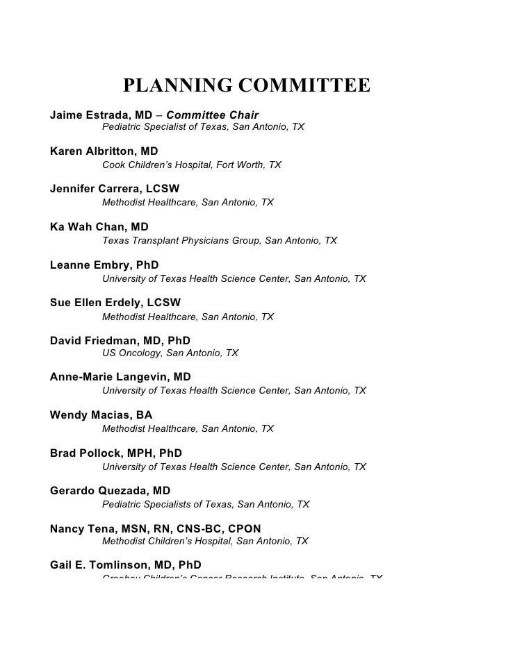 02 planning committe