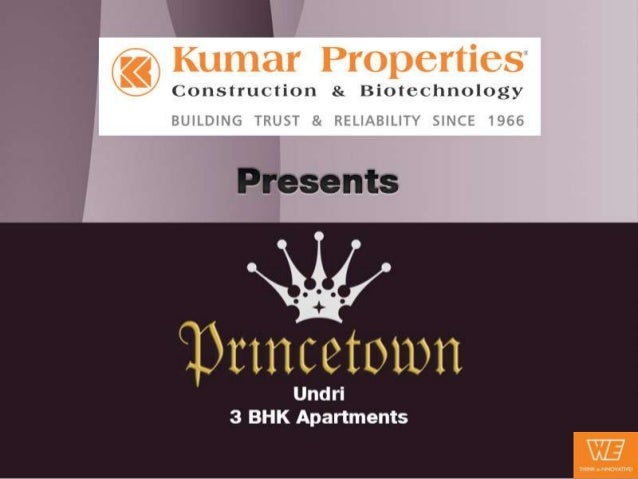 The Regal Touch to Projects in Undri with Princetown Royal